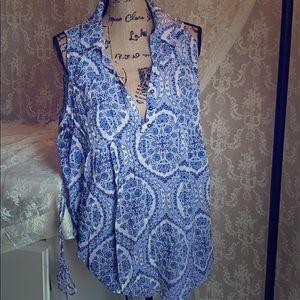 Motherhood Maternity Tops - Maternity sleeveless blouse